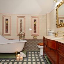 Фотография: Ванная в стиле Классический, Кантри, Современный, Декор интерьера – фото на InMyRoom.ru