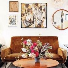 Фотография: Гостиная в стиле , Декор интерьера, Декор дома, Картины, Окна, Пол – фото на InMyRoom.ru