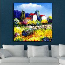 Декоративная картина: Загородный пейзаж