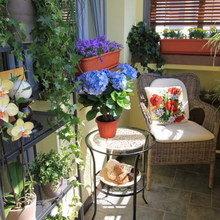 Фотография: Балкон в стиле Эко, Декор интерьера, Квартира, Интерьер комнат – фото на InMyRoom.ru