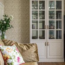 Фотография: Гостиная в стиле Кантри, Малогабаритная квартира, Квартира, Наталья Сытенкова – фото на InMyRoom.ru