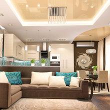Фото из портфолио гостиная-столовая – фотографии дизайна интерьеров на INMYROOM