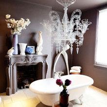 Фотография: Ванная в стиле Кантри, Эклектика, Декор интерьера, Квартира, Дома и квартиры – фото на InMyRoom.ru