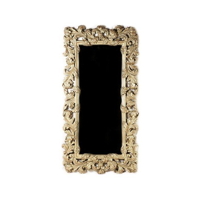 Зеркало с оправой из лепнины