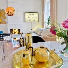 Фотография: Декор в стиле Эклектика, Декор интерьера, Дизайн интерьера, Цвет в интерьере, Советы, Белый – фото на InMyRoom.ru