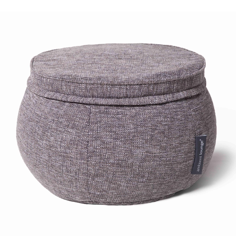 Бескаркасный пуф Ambient Lounge Wing Ottoman - Luscious Grey (серый)