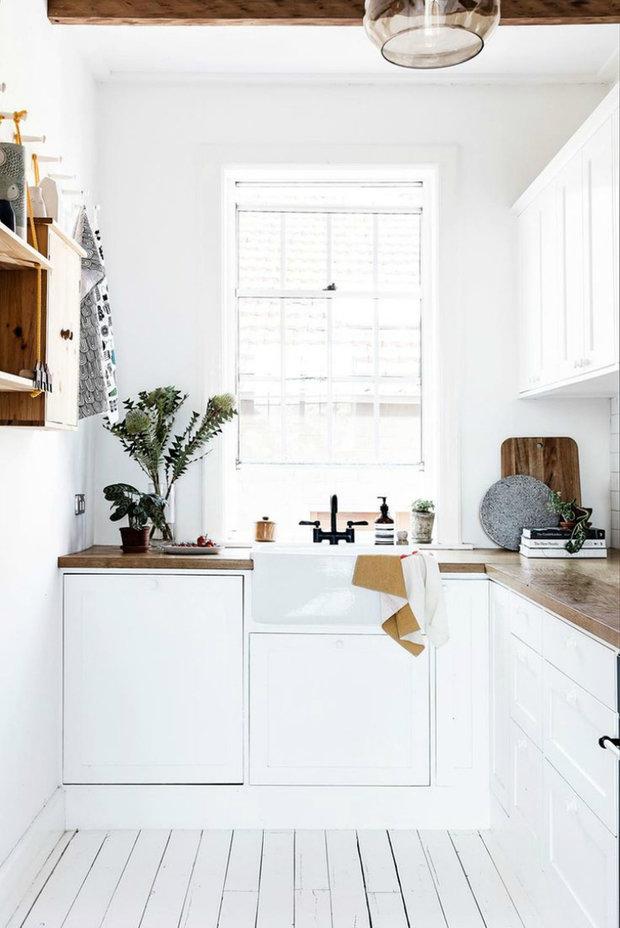 Фотография: Кухня и столовая в стиле Эко, Перепланировка, Bosсh, Finish – фото на INMYROOM
