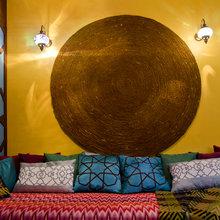 Фотография: Гостиная в стиле Восточный, Кухня и столовая, Интерьер комнат, Проект недели, Марокканский – фото на InMyRoom.ru