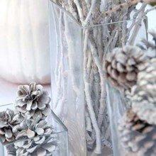 Фотография: Флористика в стиле , Декор интерьера, Праздник, Новый Год, Стол, Сервировка стола – фото на InMyRoom.ru