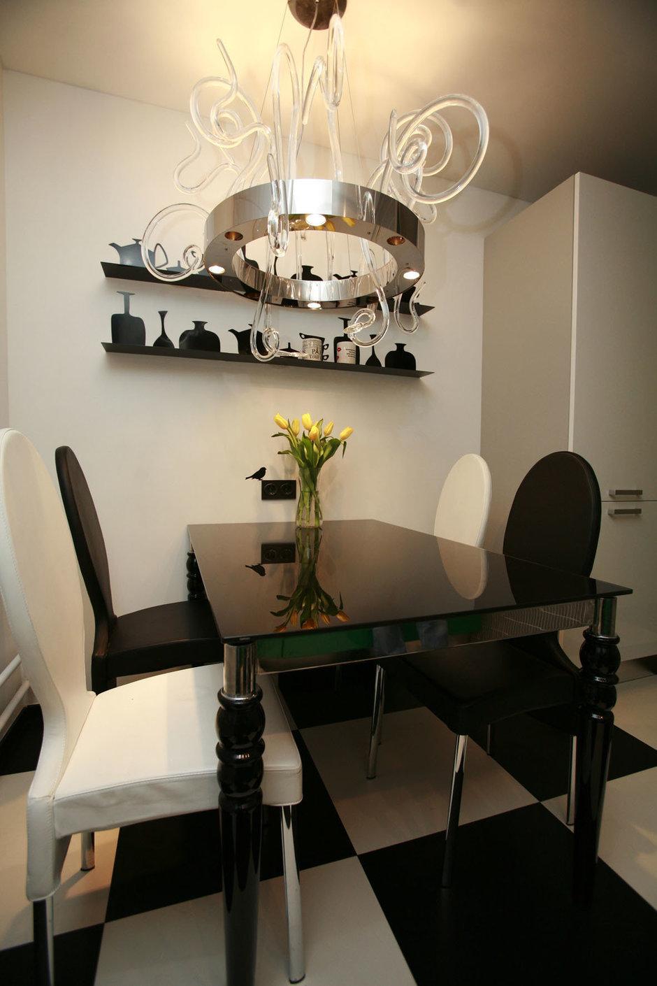 Фотография: Кухня и столовая в стиле Эклектика, Квартира, Дома и квартиры, Перепланировка, Ремонт – фото на InMyRoom.ru