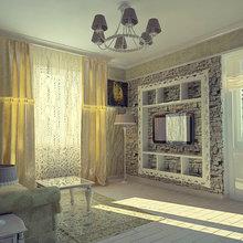 Фото из портфолио Однокомнатный Прованс (Эскиз) – фотографии дизайна интерьеров на INMYROOM