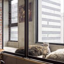Фото из портфолио квартира в г.Гаосюн, Тайвань для семейной пары,и их трёх любимых кошек – фотографии дизайна интерьеров на INMYROOM