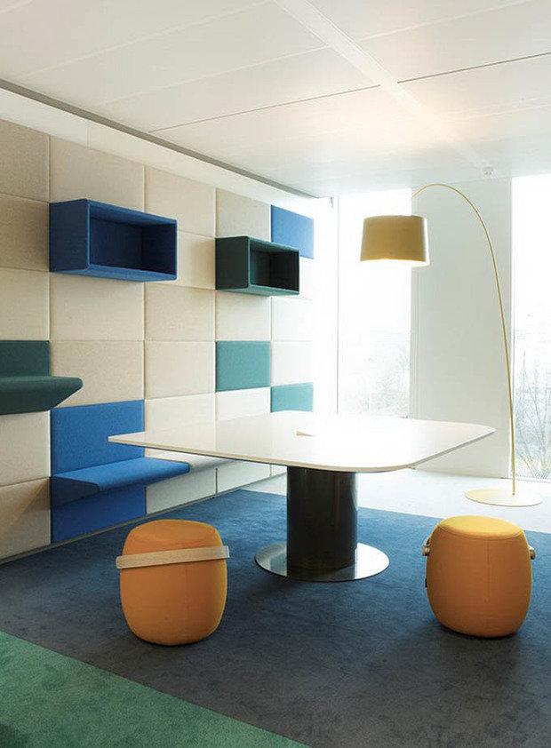 Фотография: Мебель и свет в стиле Хай-тек, Офисное пространство, Офис, Дома и квартиры, Проект недели – фото на InMyRoom.ru