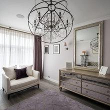 Фотография: Гостиная в стиле Кантри, Современный, Эклектика, Квартира, Проект недели – фото на InMyRoom.ru