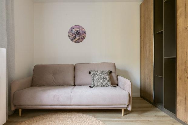 Фотография: Кабинет в стиле Скандинавский, Эклектика, Проект недели, Санкт-Петербург, Эко, 3 комнаты, 60-90 метров, I am design studio – фото на INMYROOM