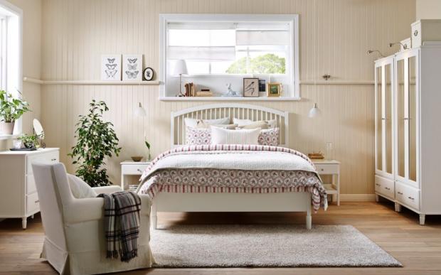Фотография: Спальня в стиле Прованс и Кантри, Гид, ИКЕА – фото на InMyRoom.ru