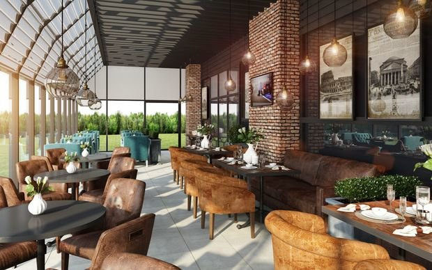 Фото из портфолио Кафе новотель 2 – фотографии дизайна интерьеров на INMYROOM