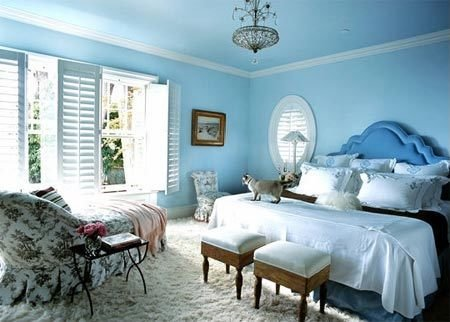 Фотография: Спальня в стиле Прованс и Кантри, Декор интерьера, Малогабаритная квартира, Квартира, Дома и квартиры – фото на InMyRoom.ru