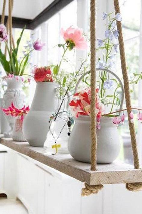 Фотография: Флористика в стиле , Балкон, Интерьер комнат, специальная тема: балконы – фото на InMyRoom.ru
