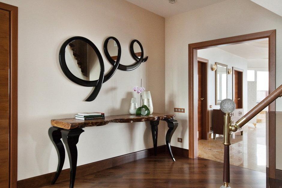 Фотография: Мебель и свет в стиле Эклектика, Квартира, Италия, Дома и квартиры, Пентхаус, Люстра, Ар-деко – фото на InMyRoom.ru