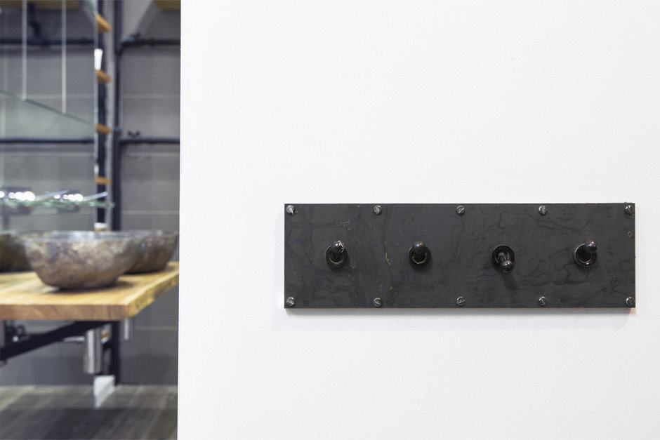 Фотография: Ванная в стиле Лофт, Квартира, Проект недели, Сталинка, 3 комнаты, 60-90 метров, Евгения Разуваева – фото на InMyRoom.ru