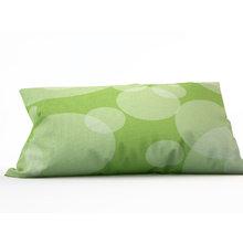 Декоративная подушка: Салатовые круги