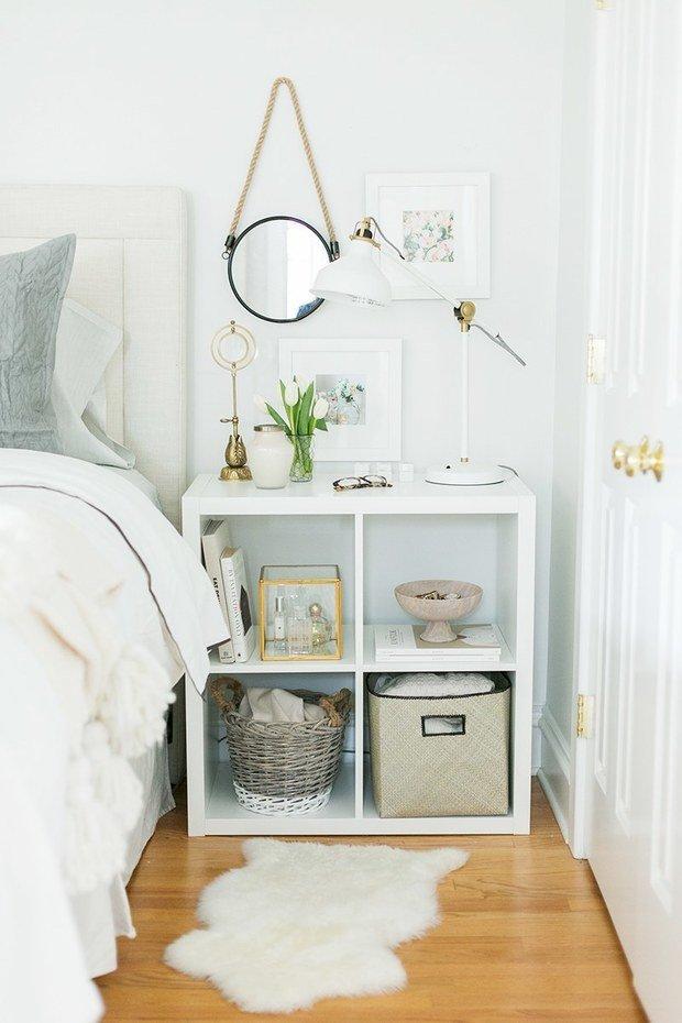 Фотография: Спальня в стиле Скандинавский, Малогабаритная квартира, Советы – фото на InMyRoom.ru