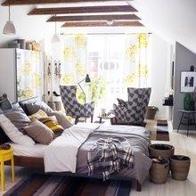 Фотография: Спальня в стиле Современный, Текстиль, Индустрия, Новости, IKEA, Ткани, Мягкая мебель, Светильники, Ваза, Стокгольм – фото на InMyRoom.ru