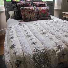 Фотография: Спальня в стиле Кантри, Декор интерьера, Дом, Декор дома, Цвет в интерьере – фото на InMyRoom.ru
