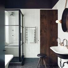 Фотография: Ванная в стиле Скандинавский, Малогабаритная квартира – фото на InMyRoom.ru