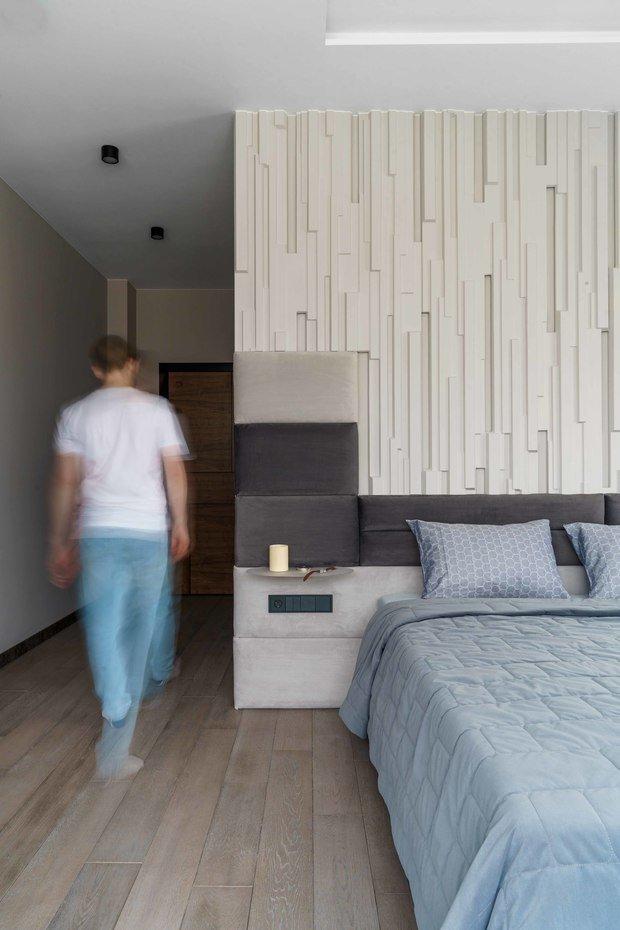 Фотография: Спальня в стиле Современный, Квартира, Проект недели, Санкт-Петербург, 4 и больше, Более 90 метров, Сенчугов и Нечаев – фото на INMYROOM