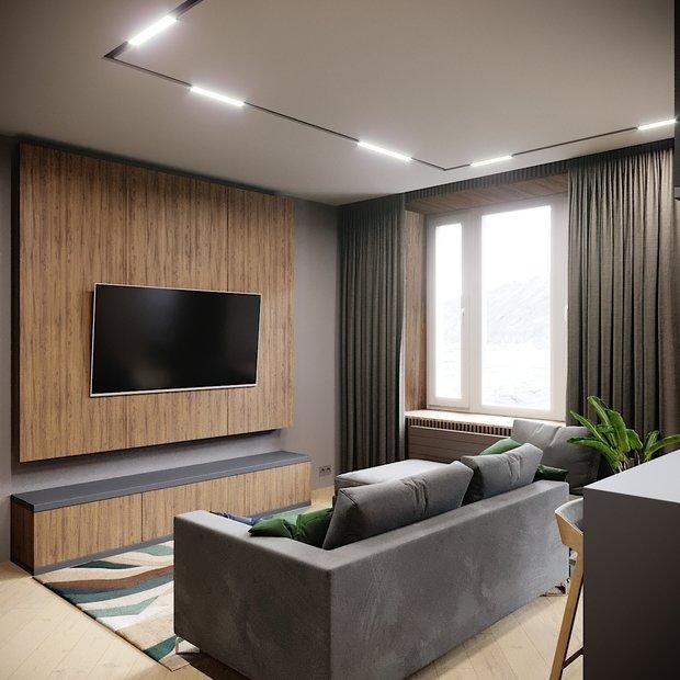 Фото из портфолио MODERN apartment in Moscow – фотографии дизайна интерьеров на INMYROOM