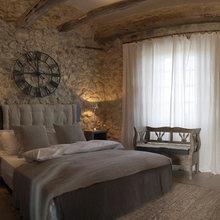 Фотография: Спальня в стиле Кантри, Дом, Франция, Дома и квартиры, Прованс – фото на InMyRoom.ru