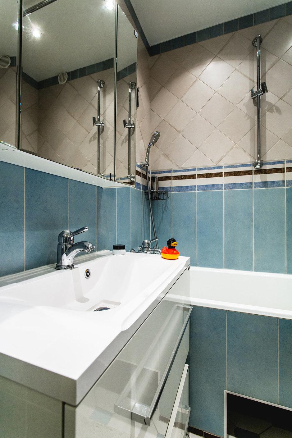 Фотография: Ванная в стиле Современный, Классический, Квартира, Проект недели, Jazzberry – фото на InMyRoom.ru