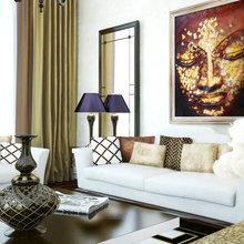 Фотография: Гостиная в стиле Современный, Квартира, Дома и квартиры, Архитектурные объекты, Париж – фото на InMyRoom.ru
