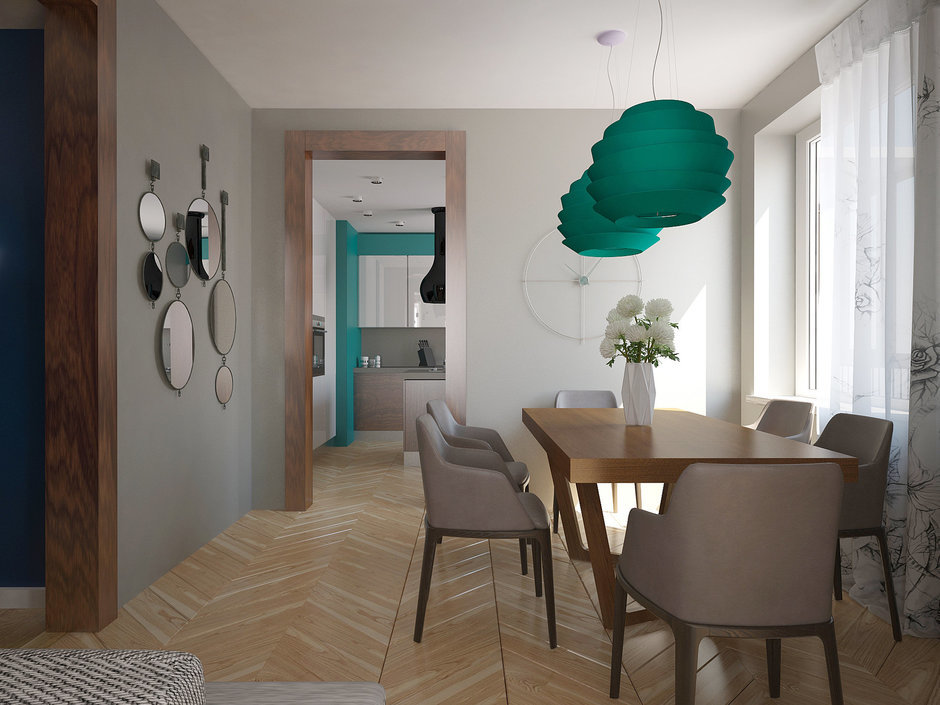 Фотография: Кухня и столовая в стиле , Квартира, Дома и квартиры, Проект недели, Пентхаус – фото на InMyRoom.ru