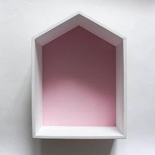 "Полка-домик ""Porto"" розовый"