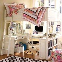 Фотография: Детская в стиле Кантри, Малогабаритная квартира, Квартира, Дома и квартиры – фото на InMyRoom.ru