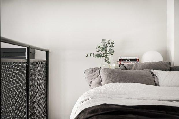 Фотография: Спальня в стиле Скандинавский, Лофт, Декор интерьера, Квартира, Студия, Стокгольм, 40-60 метров – фото на InMyRoom.ru