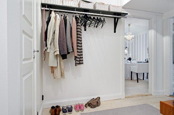 Фотография: Прихожая в стиле Скандинавский, Интерьер комнат – фото на InMyRoom.ru