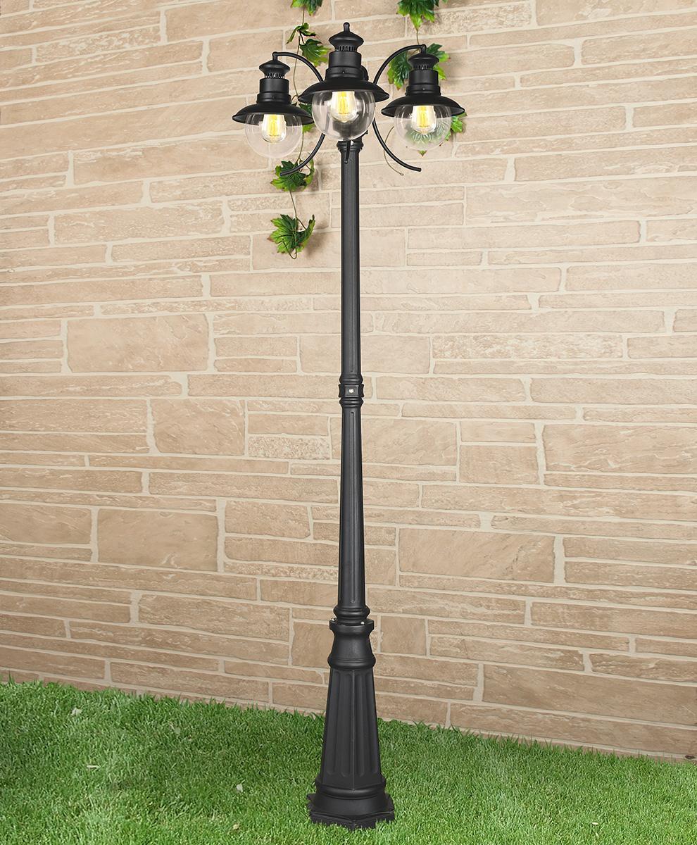 Садово-парковый cветильник Elektrostandard Talli  черный