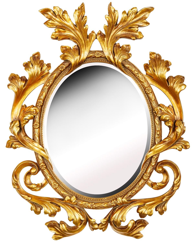 Купить Настенное зеркало в раме Glory Gold, inmyroom, Россия