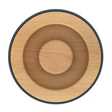 Ёмкость для хранения с деревянной крышкой коллекция 100