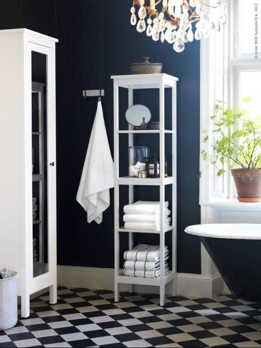 Фотография: Ванная в стиле Прованс и Кантри, Декор интерьера, Дизайн интерьера, Цвет в интерьере, Черный – фото на InMyRoom.ru