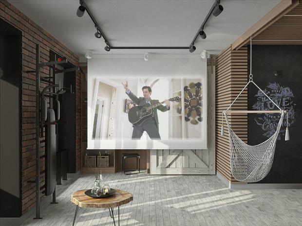 Фотография: Прочее в стиле Лофт, Гид, Мегафон, Мегафон ТВ, чилаут, чилаут-зона – фото на INMYROOM