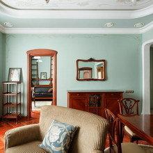 Фотография: Гостиная в стиле Кантри, Дизайн интерьера – фото на InMyRoom.ru