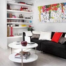 Фотография: Гостиная в стиле Современный, Дизайн интерьера, Цвет в интерьере – фото на InMyRoom.ru
