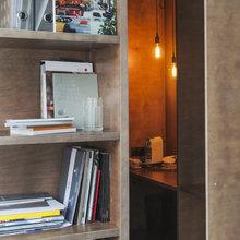 Офис дизайн-студии Nido Interiors, Artplay. Метраж: 40 кв. м. Фото: Ольга Мелекесцева