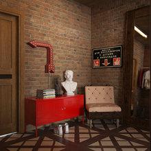 Фотография: Прихожая в стиле Лофт, Декор интерьера, Квартира, Foscarini, Restoration Hardware, Дома и квартиры, IKEA, Проект недели – фото на InMyRoom.ru
