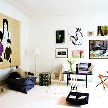 Фотография: Гостиная в стиле Скандинавский, Декор интерьера, DIY, Дизайн интерьера, Цвет в интерьере – фото на InMyRoom.ru